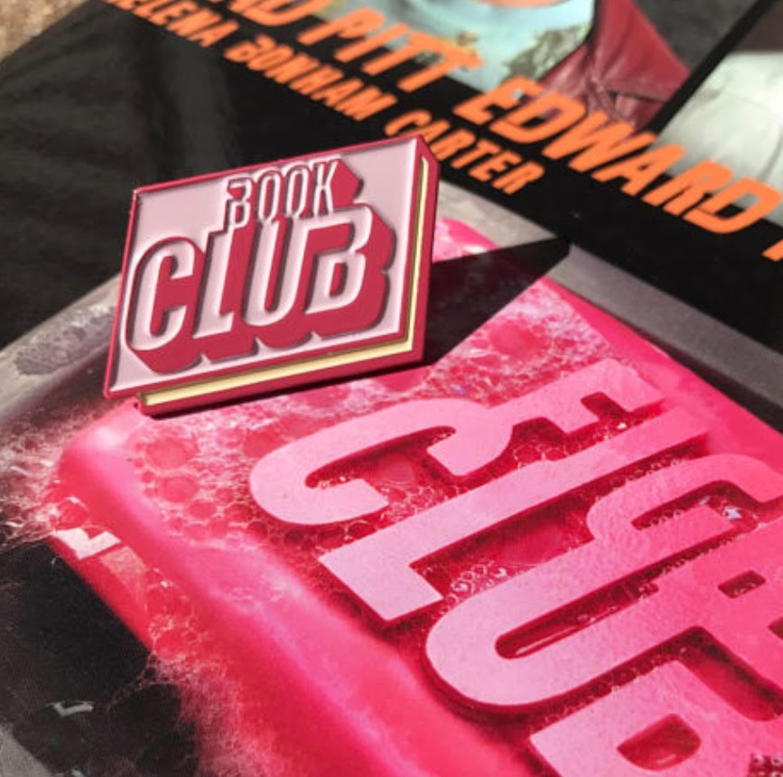 Fight Club Book Club Enamel Pin